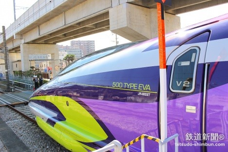 500 TYPE EVA 彩繪列車11/7發動!驚人內裝先睹為快 5625d0f633c69