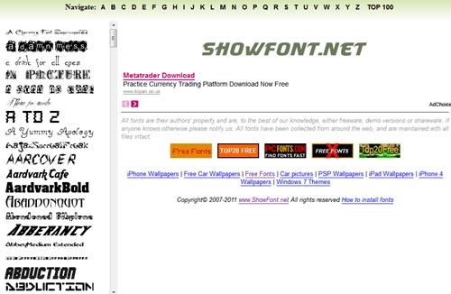字型大補帖,收錄超過 60,000 種英文字型免費下載(含即時預覽功能) -05