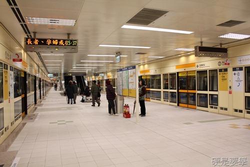 捷運新莊線通車試乘心得,全線7站走透透 IMG_2007