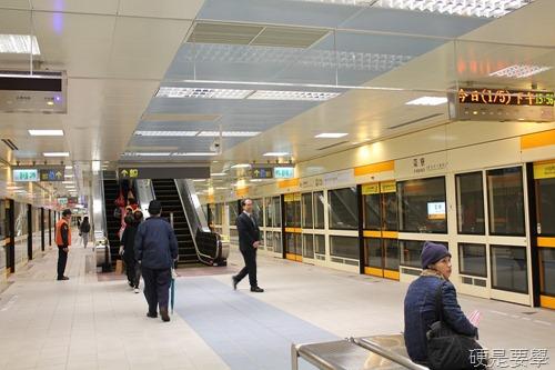 捷運新莊線通車試乘心得,全線7站走透透 IMG_2025