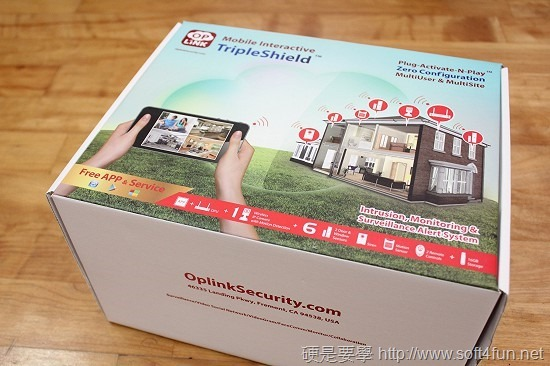Oplink TripleShield  All in one 雲端監控警報系統,居家、辦公皆適用 IMG_0605