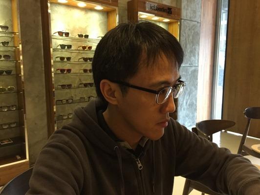 濾藍光眼鏡配鏡推薦:光明分子的眼鏡世界 MOSCOT106