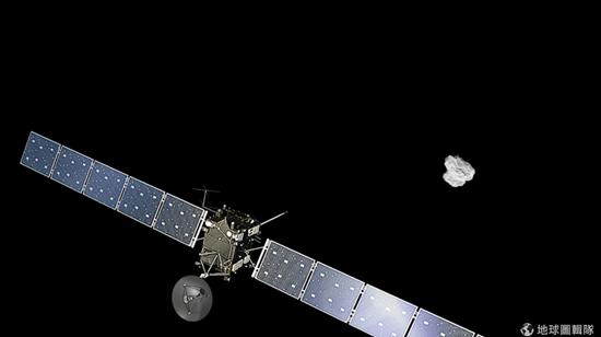 羅賽塔新發現:「橡膠小鴨」彗星質量100億噸