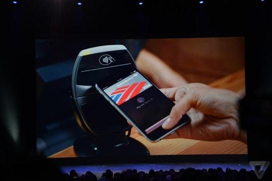 Apple 推出電子錢包 Apple Pay,利用指紋辨識刷卡付款 1410284901372697