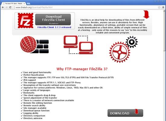 注意!假 FileZilla 安裝檔流出,將自動傳送 FTP 帳號密碼 1