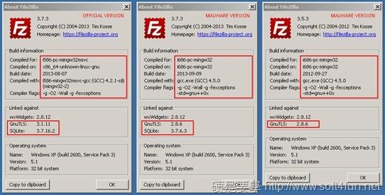 注意!假 FileZilla 安裝檔流出,將自動傳送 FTP 帳號密碼 about_windows