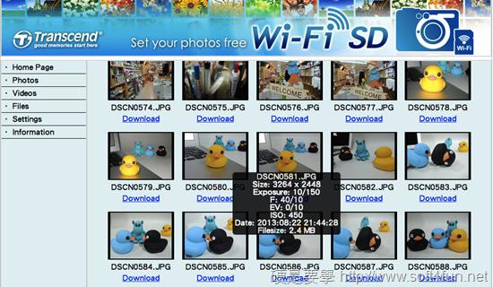 Wi-Fi記憶卡,免拔卡直接分享照片到 FB Snip20130826_7