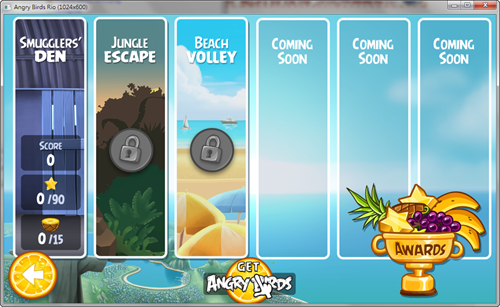 憤怒鳥:里約大冒險(Angry Birds:Rio)PC版出爐! -Angry-Birds-Rio-PC-02