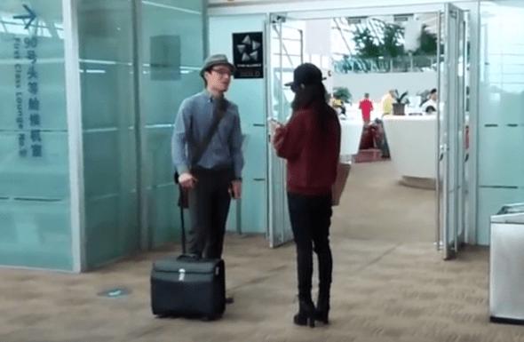兩中國旅客機場爆衝突,女嗆:法律規定拿國產手機不能上飛機 img-002