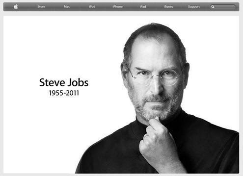 [悼念] 蘋果創辦人 Steve Jobs 辭世,享年56歲 Apple