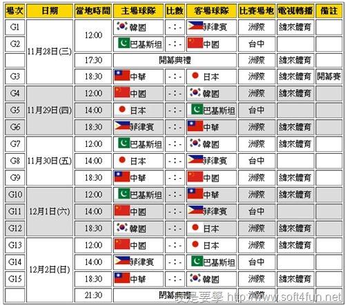 2012 棒球亞錦賽 線上直播(轉播)資訊 693f4cc936e4