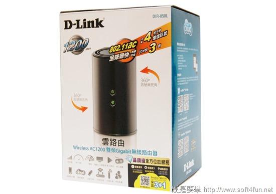 [開箱] D-Link DIR-850L + DWA-182 打造豐富的家用網路環境 case