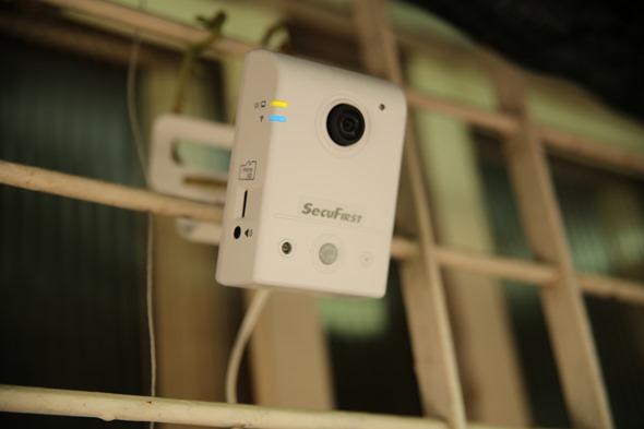 SecuFirst WP-P01S 180度超廣角無線攝影機評測 IMG_8226