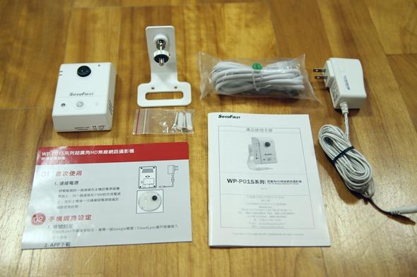 SecuFirst WP-P01S 180度超廣角無線攝影機評測 IMG_8245