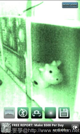 [Android] 夜視攝像機:拍到原本相機看不到的暗處,玩真的! 2
