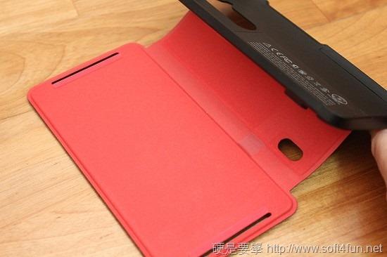 加大 HTC One Max 電池續航力,Power Flip Case 輕巧簡便的最佳選擇 IMG_0630
