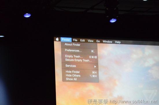 Apple 發布新 OS X Yousemite,全面採用扁平化設計 DSC_0848