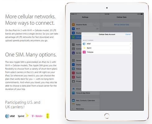 綁約方案終結者?蘋果推出 Apple SIM 隨時轉換行動業者免換卡 applesim