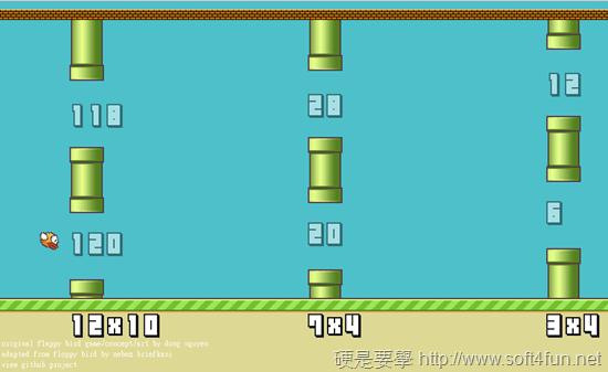 Flappy Bird 進化版 Flappy Math Saga,考驗你的心算能力 Flappy-Math-Saga-01