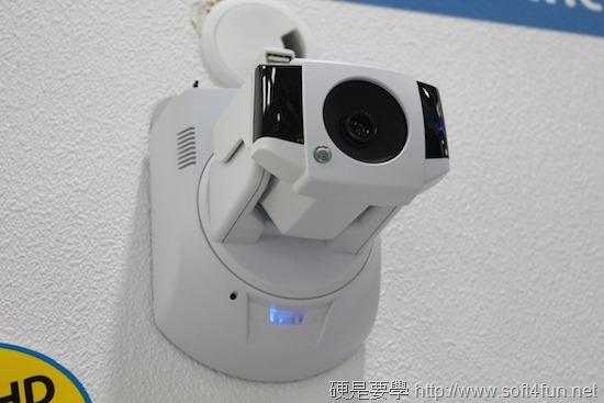 [COMPUTEX 2014] Compro 康博結合雲端概念,推出紅外線遠距遙控網路攝影機 IMG_3154