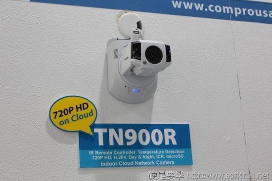 [COMPUTEX 2014] Compro 康博結合雲端概念,推出紅外線遠距遙控網路攝影機 IMG_3159