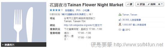 [統計] 2013 年 Facebook 全球熱門打卡地點,台南花園夜市勇奪第12名 011ae6902912