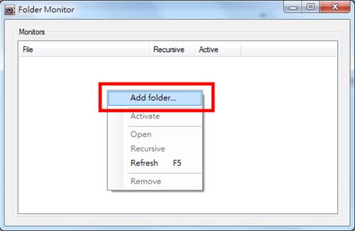 資料夾監視工具「Folder Monitor」任何動靜即時掌握 folder-monitor-01
