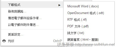 Google 文件不再支援輸出 DOC、XLS、PPT 三種微軟 Office 的舊格式 save-to-docx_thumb