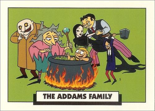 [Google Doodle] 查理.亞當斯《阿達一族》創作者100歲誕辰 addams-family