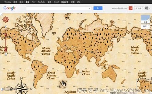 Google 地圖推出藏寶圖,一起來解開寶藏位置吧! google-2