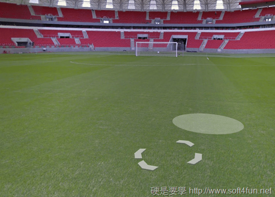 一起瘋世足!Google 地圖新增 12 座巴西世足賽球場街景 -06