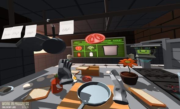 極度逼真!HTC Vive 虛擬實境眼鏡體驗心得 kitchen02
