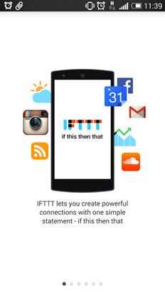 IFTTT 入門教學:如果明天下雨,請今日提醒我(Android / iOS) IFTTTAndroidiOS-01