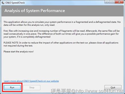 硬碟重組效能分析工具「O&O SpeedCheck」,重組效能立竿見影 _speedcheck-01_thumb