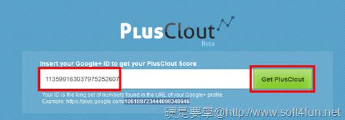 PlusClout : 你的 Google+ 影響力評價指數 plusclout-02