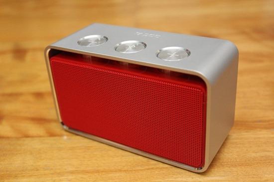 Rapoo A600 NFC 無線藍芽音箱,鋁合金鑽石切邊的極致金屬工藝品 rapooa60009
