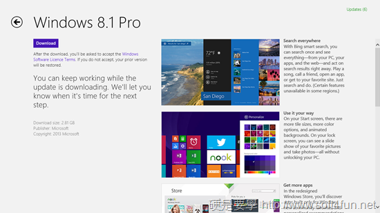 Widnows 8.1 正式開放更新,開始按鈕回來了! windows-8-12