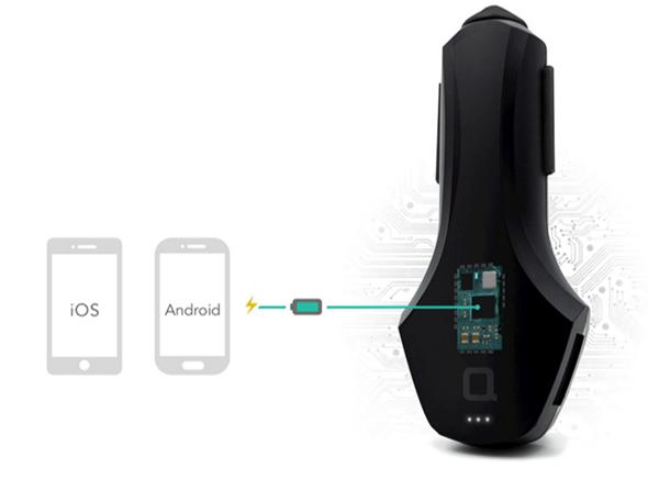 特價快買!ZUS智慧汽車定位器結合USB車充,找車、沒電沒煩惱 img-12