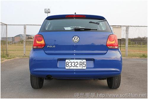 [試駕] 福斯 Volkswagen Polo 1.4 2012年款性能、油耗、安全系統體驗 image_29
