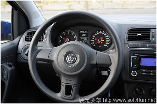 [試駕] 福斯 Volkswagen Polo 1.4 2012年款性能、油耗、安全系統體驗 image_4