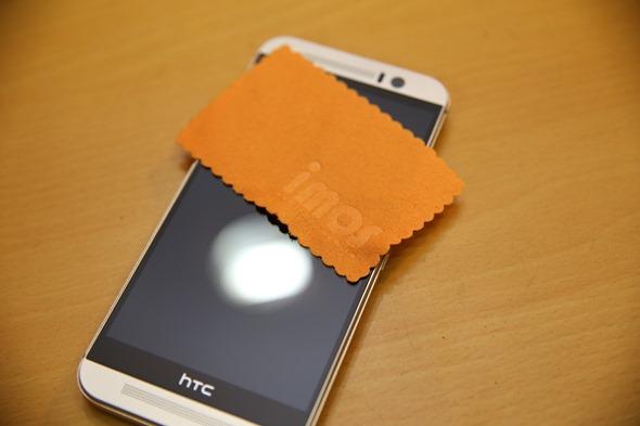 護眼必備 imos HTC One M9 專用濾藍光疏水疏油保護貼 IMG_8158
