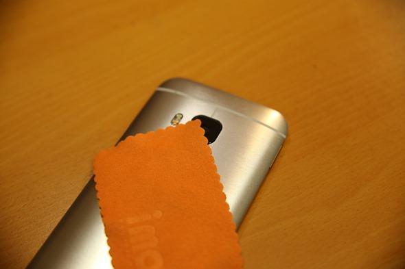 護眼必備 imos HTC One M9 專用濾藍光疏水疏油保護貼 IMG_8179