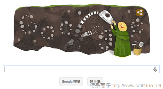 [Google Doodle] Mary Anning 英國古生物學家 215歲誕辰紀念 Mary-Anning