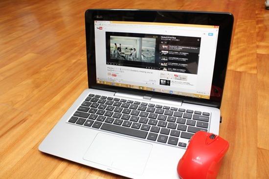 [評測] 變形筆電ASUS Transform T200TA 筆電、平板隨你變 image020