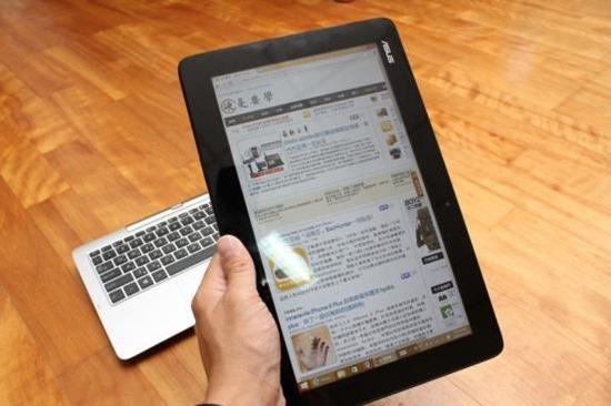 [評測] 變形筆電ASUS Transform T200TA 筆電、平板隨你變 image023