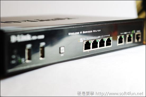 享受流暢網路的快感 D-Link DSR-1000N DSC_0026