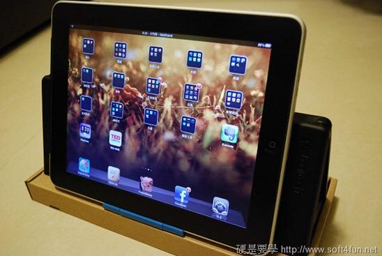 【開箱文】羅技 iPad 鍵盤立架組 - 再也不用忍受螢幕鍵盤的折磨啦! clip_image006