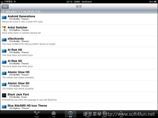 iPhone/iPad JB 後你不能不會的事:Cydia IMG_0053