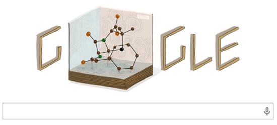 Google Doodle:Dorothy Hodgkin - X光晶體學先驅 104 歲誕辰 Dorothy-Hodgkin-google-doodle