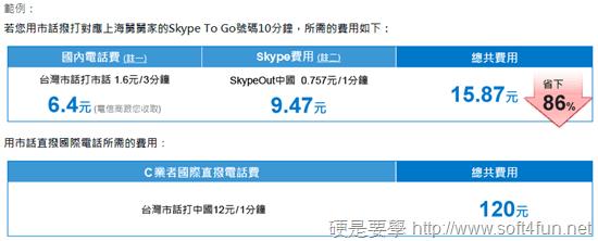 Skype To Go 讓手機、市話都可撥打超低價國際電話 skype-to-go